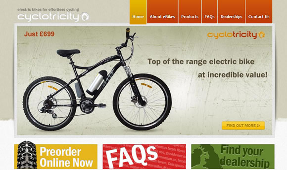 Cyclotricity - Electric Bikes